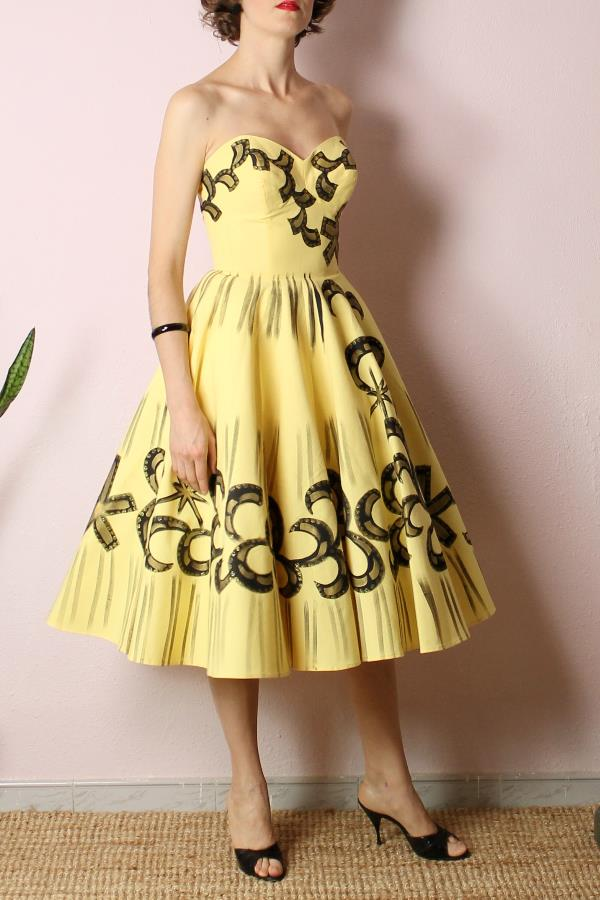 Mexican Handpainted dress13